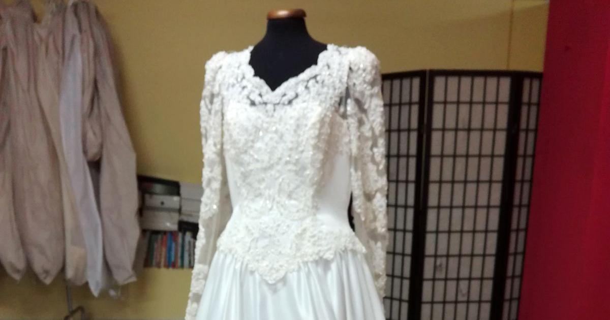 Il bianco dona: vendita di beneficenza di abiti da sposa