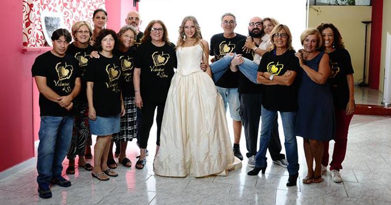 """Le ragazze di Miss Agrigento protagoniste dell'iniziativa """"Il bianco dona"""""""
