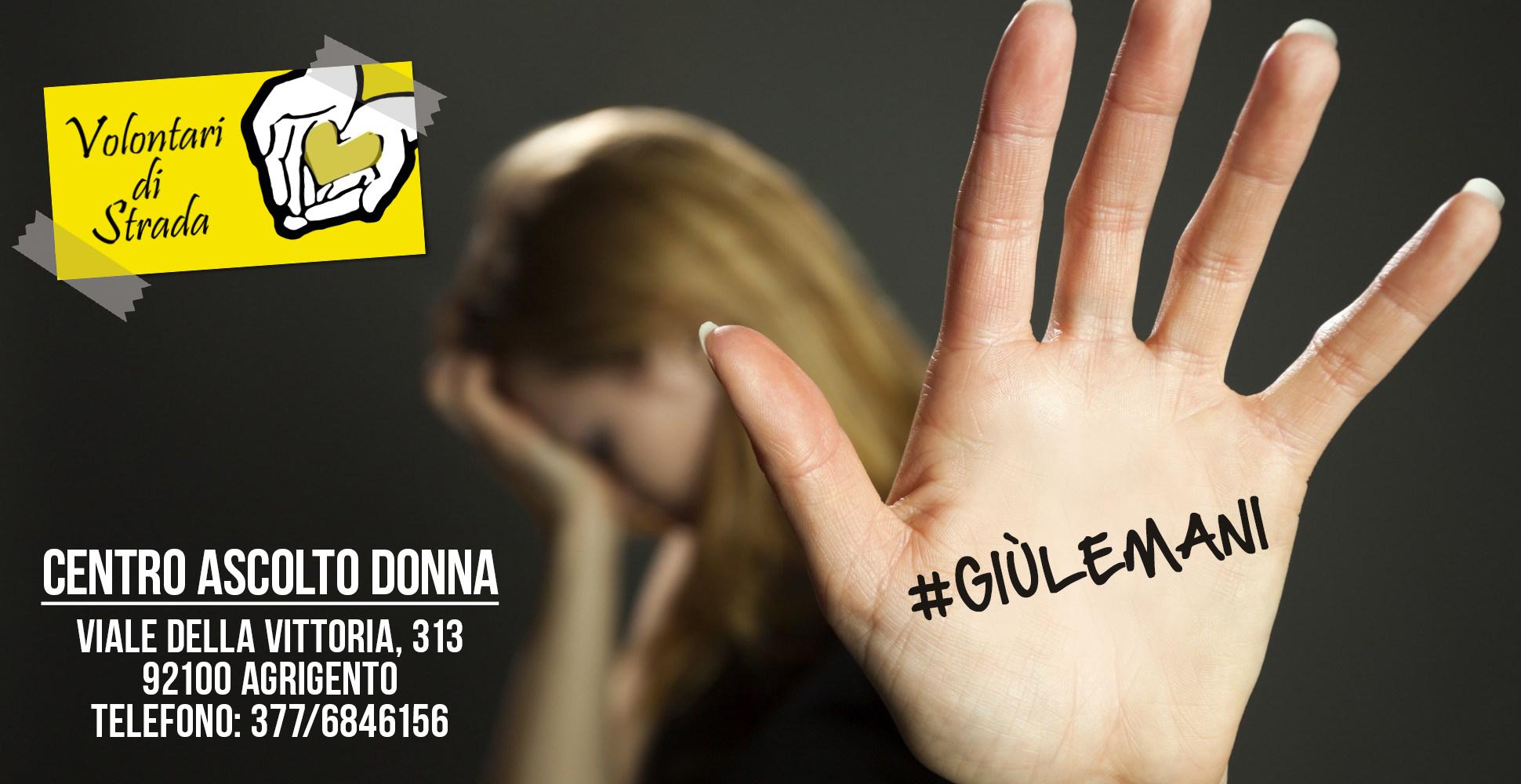 Violenza sulle donne, nasce il progetto #giùlemani con un centro di ascolto e un corso di difesa personale