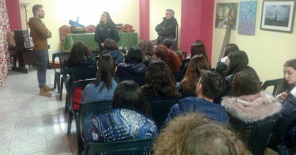 """Visita del Liceo Classico """"Empedocle"""" di Agrigento"""