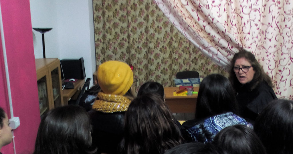 """Visita del Liceo Classico """"Empedocle"""" di Agrigento (foto 1)"""