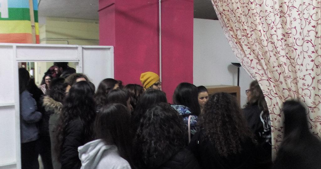 """Visita del Liceo Classico """"Empedocle"""" di Agrigento (foto 2)"""
