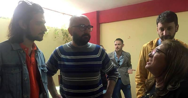 Visita di Michele Sodano ai Volontari di Strada