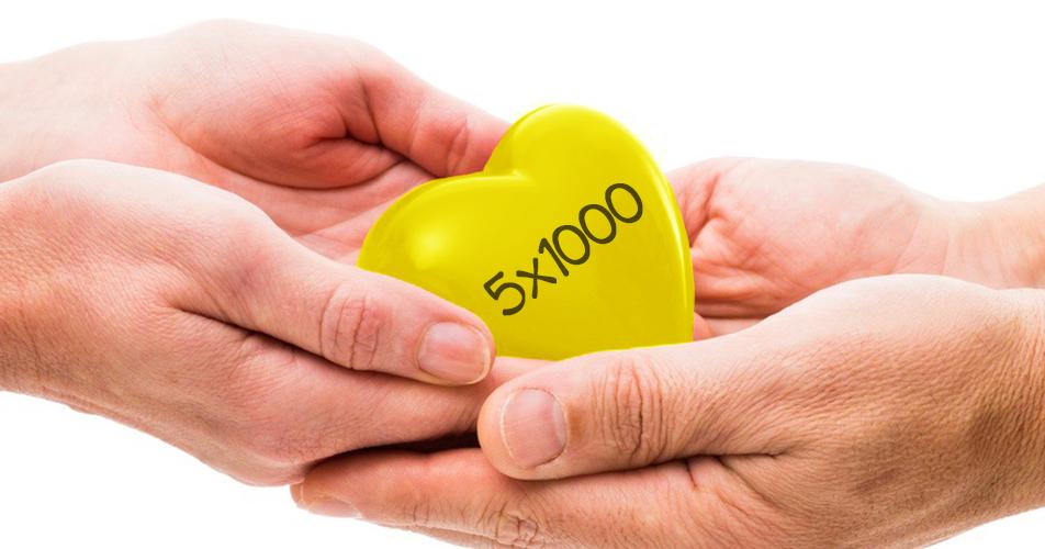 Dona il tuo 5×1000 all'Associazione Volontari di Strada Onlus