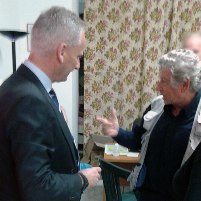 Il Questore Maurizio Auriemma e il dott. Aldo Lo Curto