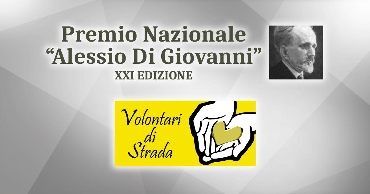 """Assegnato ai Volontari di Strada il premio nazionale """"Alessio Di Giovanni"""""""
