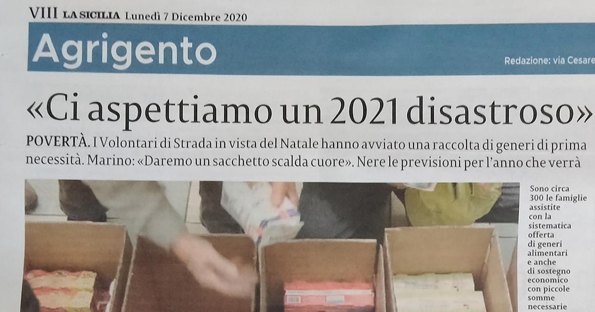 """Articolo giornale """"La Sicilia"""""""