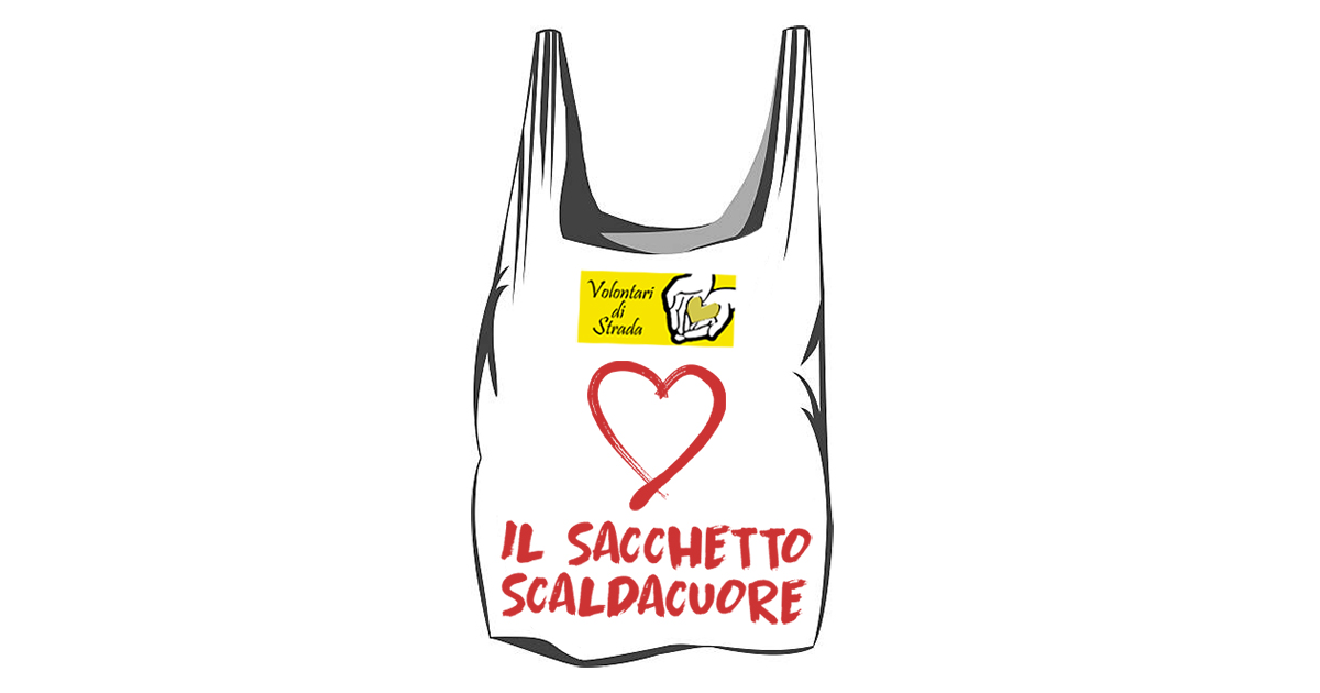 """Natale e solidarietà: i Volontari di Strada lanciano l'iniziativa """"Il sacchetto scaldacuore"""""""